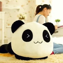 цены 1Pc Soft Plush Doll Toy Animal Giant Cute Panda Pillow Bolster Gift  70cm