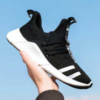 Men 350 Boost V2 Running Shoes Comfortable Sports Outdoor Air Mesh Sneakers Male Athletic Breathable Footwear Walking Jogging