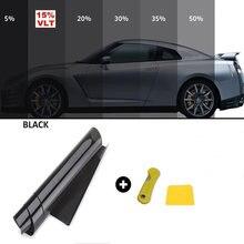 50cm x 3m filme matiz da janela do carro etiqueta de vidro do carro sun shade filme auto vidro da janela de casa verão uv protetor folhas adesivos filmes