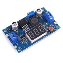 Lm2596 dc step down conversor regulador de tensão display led voltímetro 4.0 40 40 a 1.3-37v buck adaptador fonte de alimentação ajustável