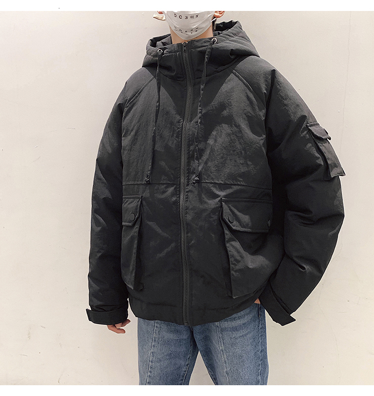 Jacket Parka Thick Warm Student Clothes