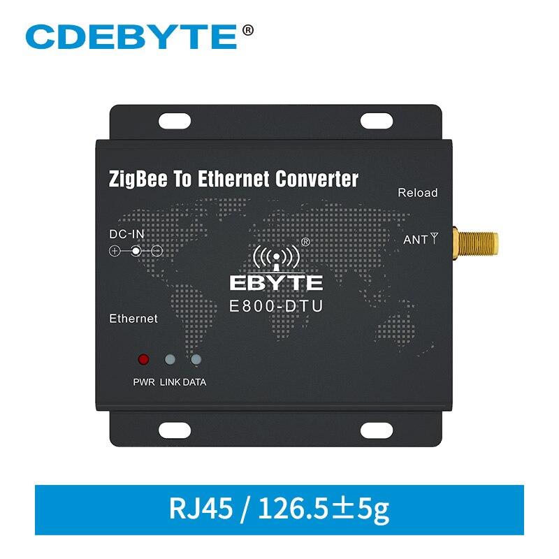 Ethernet  2.4GHz CC2530 ZigBee Module E800-DTU(Z2530-ETH-27) 27dBm 500mW RJ45 TCP UDP Ad Hoc Network Rf Transceiver Modem