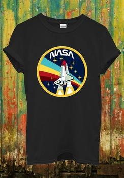 Nasa Rocket Science męska koszulka z okrągłym dekoltem modna odzież z krótkim rękawem Unisex t-shirt-1 tanie i dobre opinie CASUAL SHORT CN (pochodzenie) COTTON Na wiosnę i lato Na co dzień Z okrągłym kołnierzykiem Drukuj