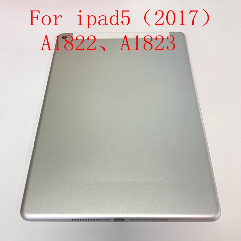 For Apple ipad5 (2017) A1822 A1823 ipad 5 housing Battery back cover Rear frame title=
