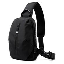 Fashion male messenger bag men sling shoulder bag Casual waterproof travel small chest bag slim mini crossbody bag bolsos hombre