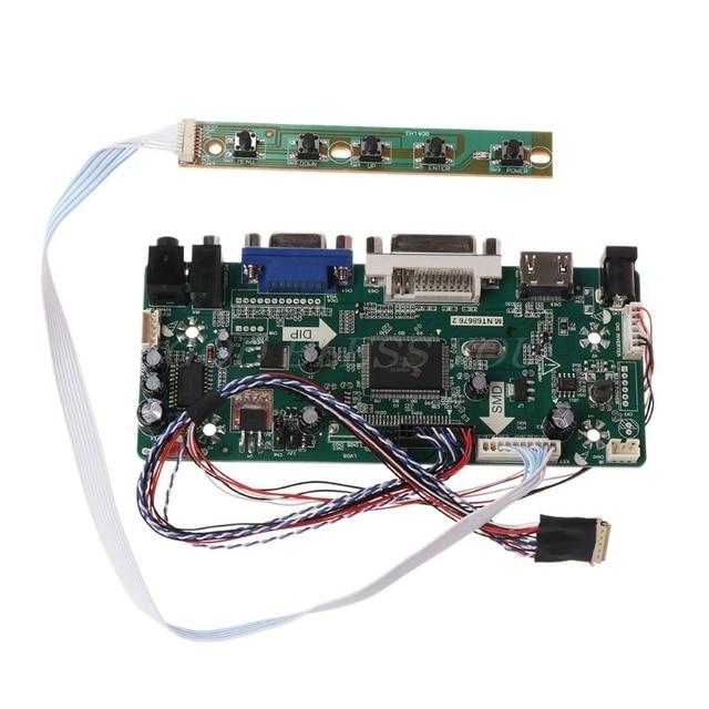 "Controller Board LCD HDMI DVI VGA Audio PC Modul Fahrer DIY Kit 15.6 ""Display B156XW02 1366X768 1ch 6/8 bit 40 Pin Panel"