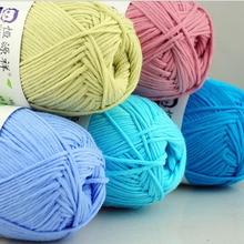 Baby Yarn Hand-Knitting Combed Crochet-Thread Soft 100%Organic-Cotton 10balls/Lot First-Class