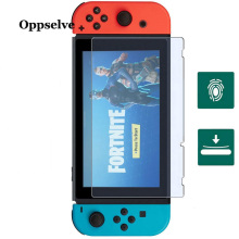 Oppselve 9H Screen Protector For Nintend Switch Tempered Glass for Nintendo Ultra Slim HD Protective Film