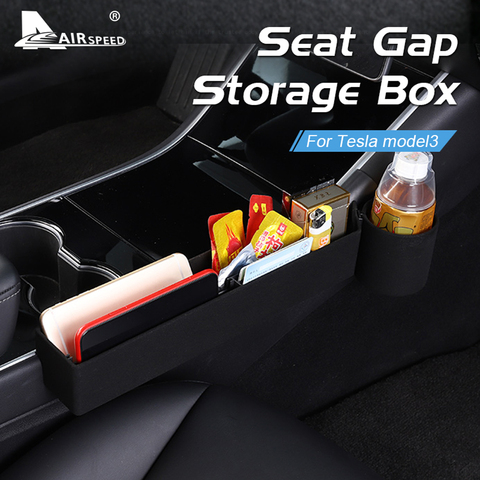 velocidade do ar para tesla modelo 3 acessorios organizador de armazenamento assento do carro side