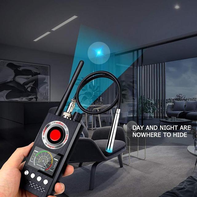 Anti Spy Wireless RF Signal Detector Bug GSM GPS Tracker Hidden Camera Eavesdropping Device Military Professional K68 VS K88 K18 3
