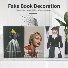 Fake Books home decoration accessories Decoration For christmas decorations 2021 Books Modern fake books girls room house luxury