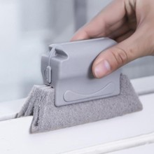 Window Groove Cleaning Cloth Window Cleaning Brush Gap Keyboard Kitchen Cleaner Brush Clean Window Slot Clean Tool
