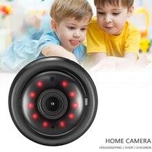 Дом Безопасность WIFI Камера Беспроводная связь HD IP Камера Двусторонняя Аудио Ночное Видение Видео Монитор 360 Градус Панорамный Дом Безопасность HD