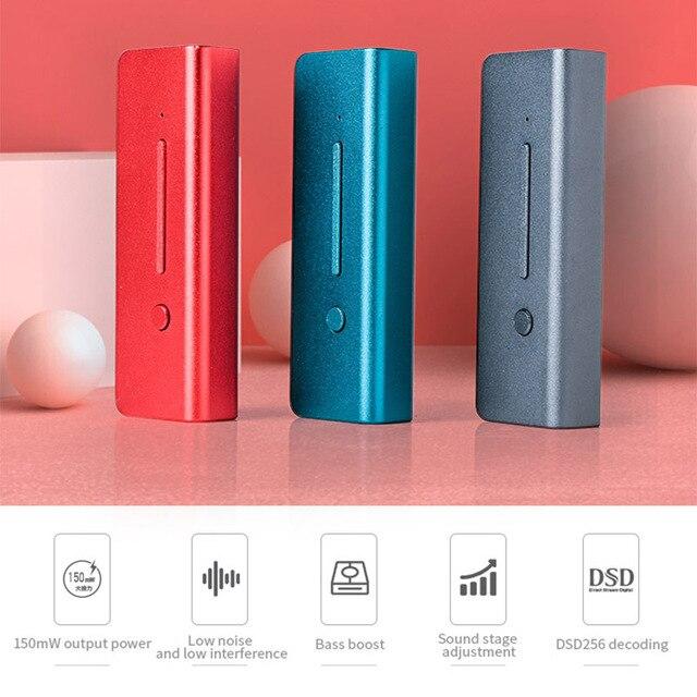 xDuoo Link2 HIFI Portable Decoding Headphone AMP  3