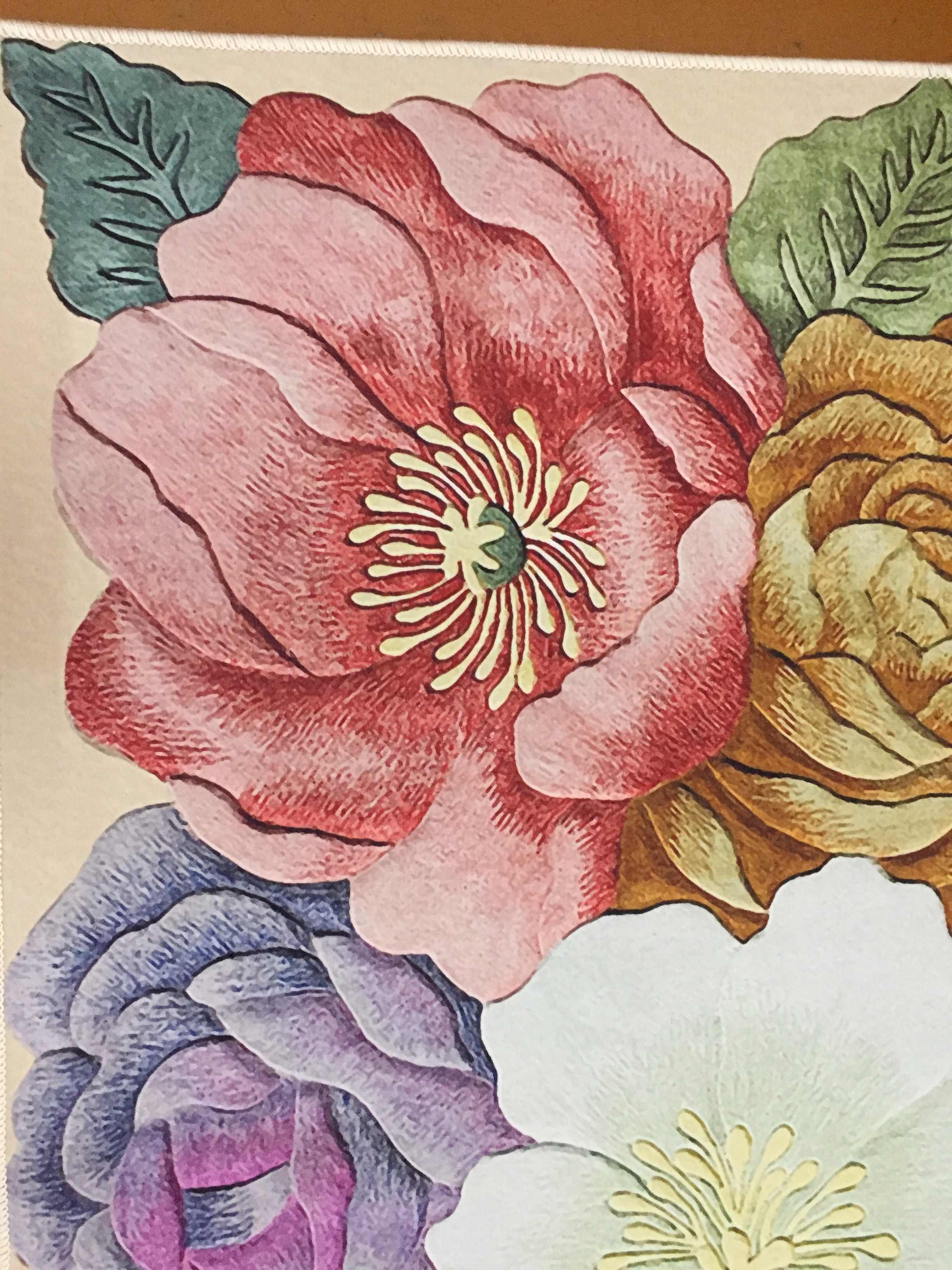 Bunte 3D Blumen Gedruckt Wohnzimmer Große Bereich Teppiche Sofa Kaffee Tisch Balkon Boden Matte Schlafzimmer Nacht Nicht-Slip teppiche