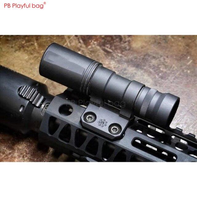 Playful bag Outdoor  Replica ARISAKA flashlight rack MK8 16 MLOK handguard compatible with M300 M600 CS toy accessories QE52