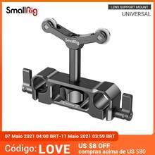 Smallrig 15mm lws suporte de lente universal para câmera dslr em forma de y lente de suporte com 15mm montagem em haste de apoio rig-2727