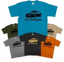 2020 Hot Sale Mens Classic Japanese car fans Celica TA22 TA23 Retro JDM Drift T Shirt Tee shirt(China)