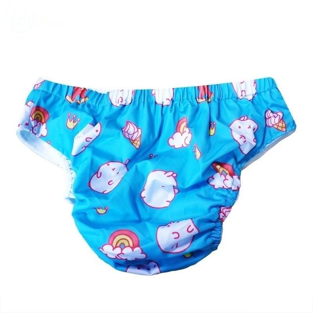 DDLG pieluchy z tkaniny dla dorosłych wielokrotnego użytku dla dorosłych duże pieluchy dla niemowląt ABDL pieluchy tatuś dziewczyna Dummy Dom Little Space