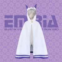 FZ03016 Womens Ponchos ACG Cosplay CostumeJapanese Anime Emily Hooded Cape Coat For Girls Students