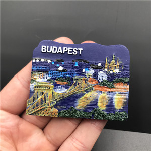 Image 5 - Magnets Sticker For Refrigerator Hungary Dubai Thailand Poland Egypt Italy Australia Spain Belgium Resin Fridge Magnet souvenir