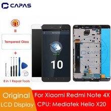 Xiaomi redmi note 4x 디스플레이 용 4 gb mtk 10 터치 스크린 redmi note 4x mediatek lcd 교체 용 예비 부품