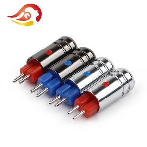 Image 2 - QYFANG conector de cable para auriculares Aurora conector de Audio de 2 pines, Conector de cobre de berilio chapado en rodio para W4R UM3X JH13 JH16, 0,78mm