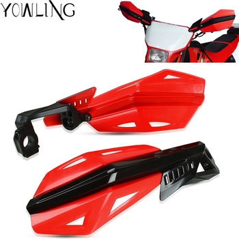 handle grip motocross motorcycle dirtbike rubber plastic hand grips for triumrh 675 675 honda crf450r crf250x crf450x Motorcycle Hand Guard Protector For Honda CR 125R 250R CRF250X CRF450R CRF450X CRF450RX CRF250L/M CRF 250 RALLY 450R XR 400