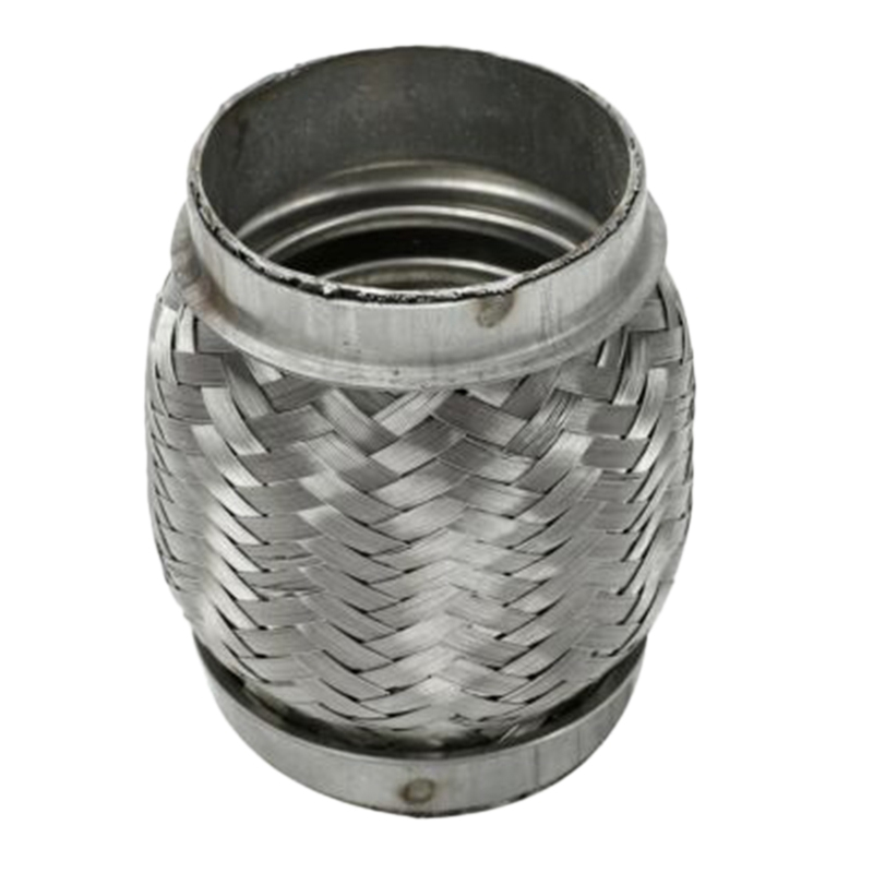 Exhaust Flex Pipe Stainless Steel Double Braid 2.5 Inch (2 1/2 Inch) X 4 Inch Long