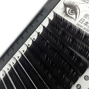 Image 5 - Klasik kirpik uzantıları vizon bireysel Lashes el yapımı profesyoneller yumuşak B C CC D DD ücretsiz hızlı kargo