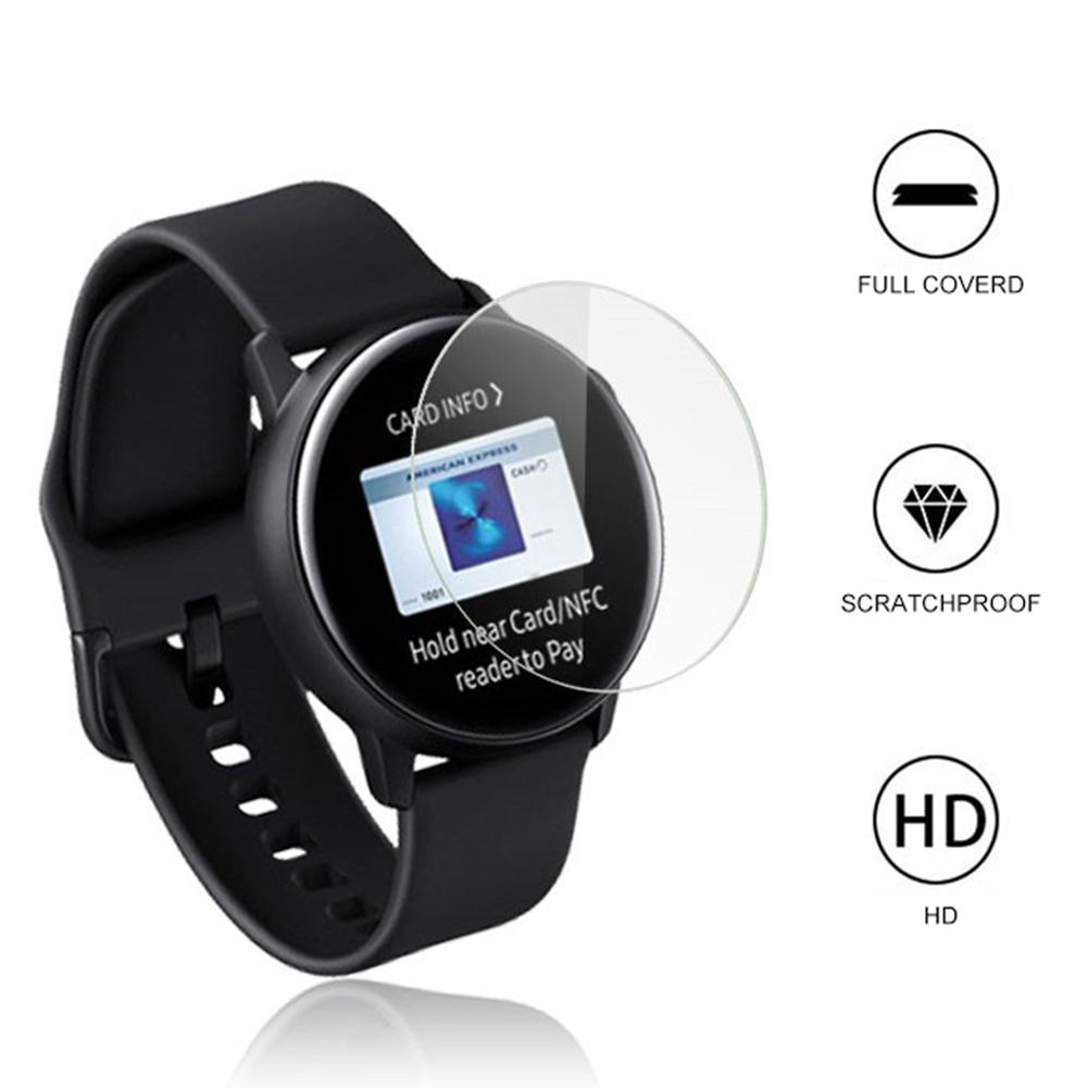 New 1Pc 3Pcs 0.26mm Tempered Glass Screen Protector For Samsung Galaxy Watch Active
