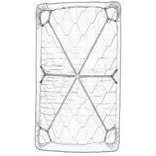 Зажимы для простыней, крепежные детали, 6 сторон, подтяжки для простыней, Эластичные подтяжки для простыней, зажимы для матраса, ремни