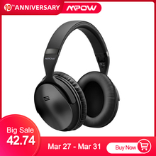 цена на 2 Gen 2nd Mpow H5 Noise Cancelling Bluetooth Headphones with Microphone Over-Ear Wireless Headset for HiFi Stereo&18Hrs Playtime