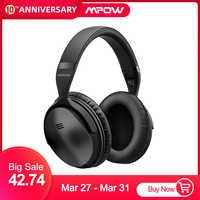 2 Gen 2nd Mpow H5 Noise Cancelling Bluetooth Kopfhörer mit Mikrofon Über-Ohr Drahtlose Headset für HiFi Stereo & 18Hrs Spielzeit