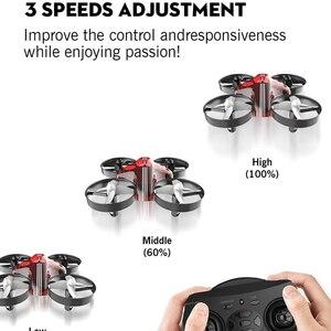 Image 3 - 미니 드론 Quadrocopter Dron RC 헬리콥터 Quadcopter 고도 홀드 헤드리스 모드 드론 2.4G 원격 제어 항공기 완구