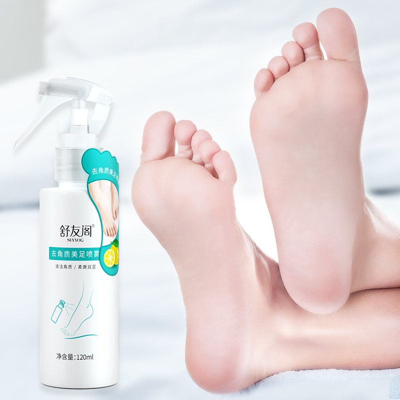 SHVYOG Baby Feet Exfoliating Foot Spray Skin Care Peeling Dead Skin Foot Cream For Heels Moisturizing Whitening Anti-Dry