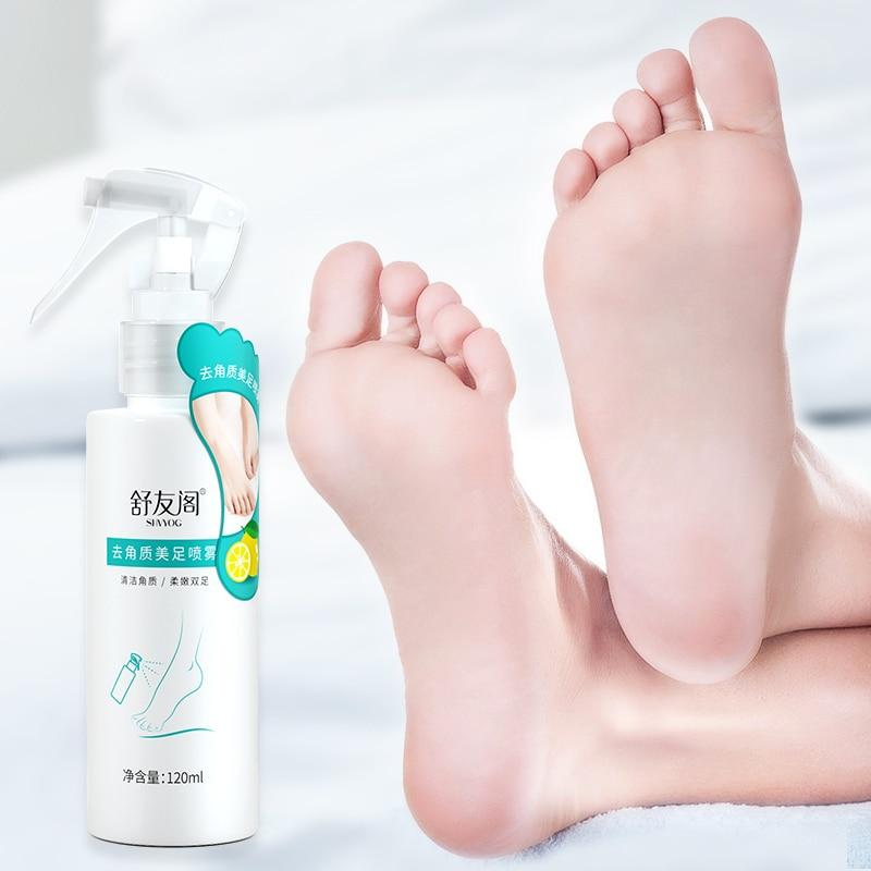 SHVYOG Baby Feet Exfoliating Foot Spray Skin Care Peeling Dead Skin Foot Cream For Heels Moisturizing Whitening Anti-Dry