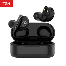 TRN T200 TWS 1BA 1DD Hybrid Driver Bluetooth V5.0 Headset Sport Wireless Earphone Earbuds QCC 3020 Chip Aptx/AAC/SBC IPX5 TRN VX(China)