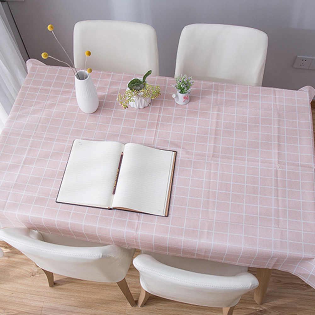 משובץ מפת שולחן עמיד למים שמן הוכחה תה שולחן כיסוי שולחן מחצלת פיקניק בד שולחן בד לנגב מכסה עמיד למים שולחן בד