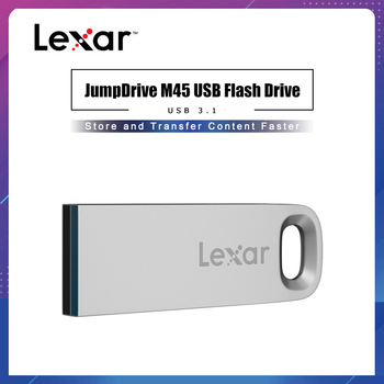 Unidad Flash USB 3,1 M45 de Lexar JumpDrive 32gb 128gb hasta 100 MB/S Pen Drive 64GB memoria Pendrive de Metal disco U