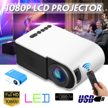 LED Mini Projector Portable Full HD 3D Projector 7000 lumens