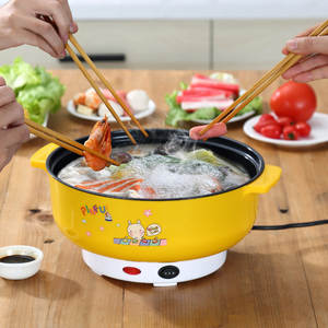 Soup-Pot Electric-Cooker Noodles-Rice Hotpot Multifunctional Steamer Heating-Pan MINI