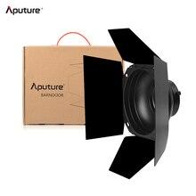 Aputure 4 잎 디자인 Barndoor 표준 7 인치 Bowens 마운트 헛간 문 Aputure LS COB 120T 120D 120D II 300D LED 비디오 라이트