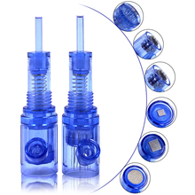Biomaser wkłady do tatuażu igły 12 pin mezoterapia dla Auto Microneedle Biomaser długopis igły do tatuażu 12pin końcówka igłowa