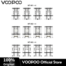 12Pcs Original VOOPOO MAAT Tank MT-M1 M2 M3 Atomizer Coils Core Heads for Alpha Zip MOD Kit E Cigarette Evaporator