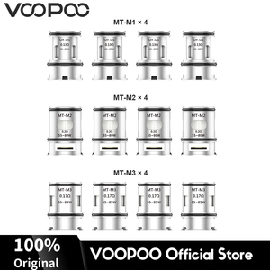 Image 1 - 12pcs Original VOOPOO Maat Tank Coils 0.13ohm 0.17ohm 0.2ohm Maat Tank Core Heads for Alipha Zip Mini Find Electronic Cigarette