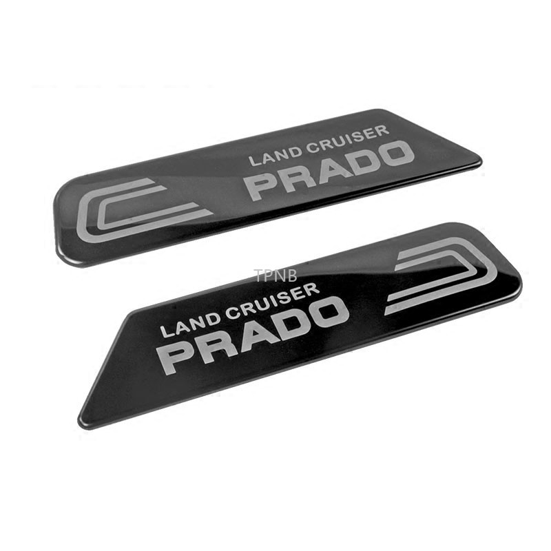3D Stainless Steel Body Nameplate Sticker for <font><b>Toyota</b></font> <font><b>Land</b></font> <font><b>Cruiser</b></font> <font><b>Prado</b></font> <font><b>120</b></font> 150 2003-2009 2010-2013 2014-2019 Accessories image