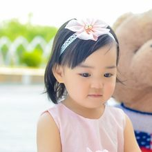 Fashion Cute Beauty Kids Headbands Sweet Girl Baby Headband Toddler Flower Hair Band Baby Girl Hair Accessories Hairpins 2019(China)