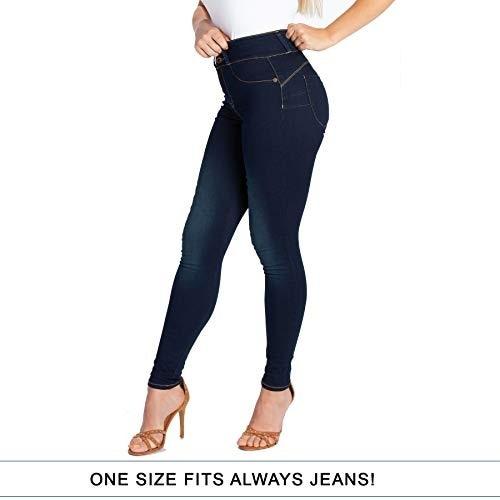 2019 New Women's Super Elastic Jeans Large Size Denim Jean Slim Skinny Trousers Fashion Pants Fit Alway Jeans Women Pants