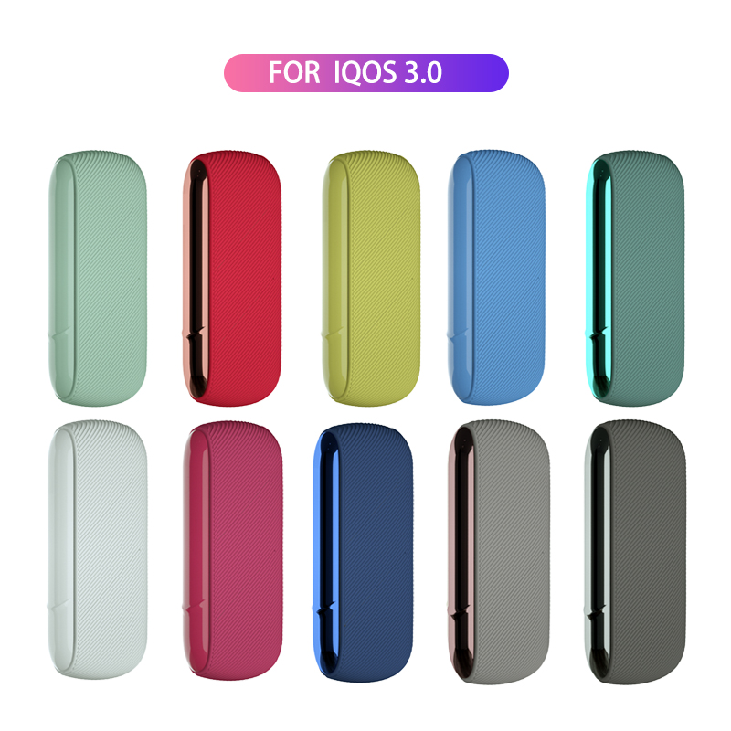 E-cigarette Silicone Case Magnetic Side Cover Skin Case For Iqos 3.0 Universal Drop-proof Replaceable Side Door Iqos Accessories